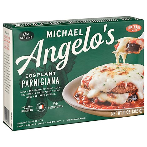 Michael Angelos Parmesan Eggplant With Tomato Sauce & Mozzarella Cheese - 12 Oz