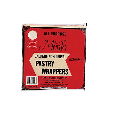 Menlo Lumpia Wrapper - 16 Oz