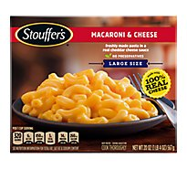 STOUFFERS Satisfying Servings Meal Macaroni & Cheese - 20 Oz