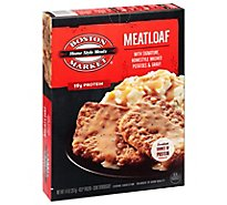 Boston Market Home Style Meals Meatloaf with Mashed Potatoes & Traditional Brown Gravy - 14 Oz