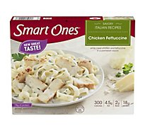 weightwatchers Smart Ones Main Street Bistro Chicken Fettuccini Frozen Food - 10 Oz