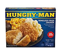 HUNGRY-MAN Frozen Meal Boneless Fried Chicken - 16 Oz