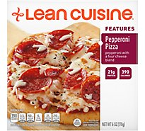 Lean Cuisine Craveables Entree Pepperoni Pizza - 6 Oz