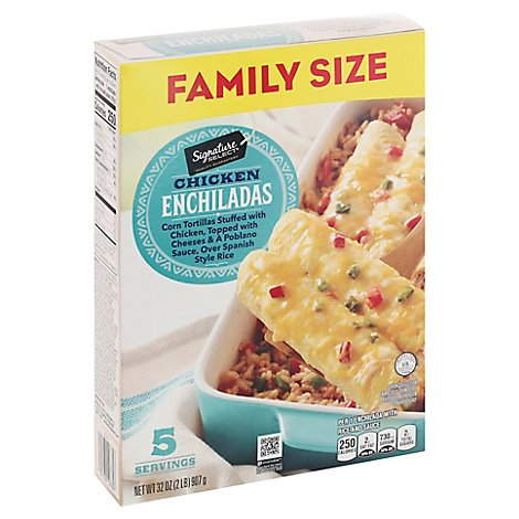 Signature SELECT Gourmet Club Frozen Chicken Enchilada - 32 Oz