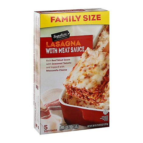 Signature SELECT Lasagna Meat Family Size - 38 Oz