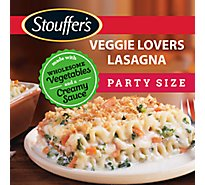 Stouffers Party Size Lasagna Vegetable - 96 Oz