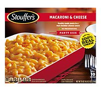 STOUFFERS Meal Party Size Macaroni & Cheese - 76 Oz