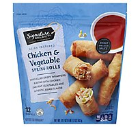 Signature SELECT Spring Rolls Chicken & Vegetable - 17.7 Oz