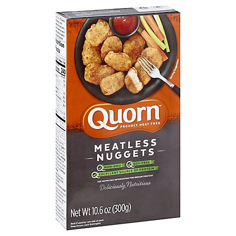 Quorn Meatless Nuggets Non GMO Soy Free - 10.6 Oz