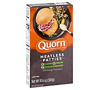 Quorn Meatless Patties Non GMO Soy Free 4 Count - 10.6 Oz