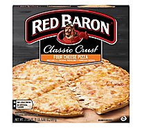 Red Baron Pizza Classic Crust 4 Cheese Pizzas Frozen - 21.06 Oz