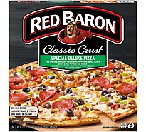 Red Baron Pizza Classic Crust Special Deluxe Frozen - 22.95 Oz