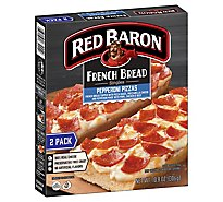 Red Baron Pizza French Bread Singles Pepperoni 2 Count - 10.8 Oz