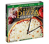 Amys Pizza Rice Crust Cheese Gluten Free Frozen - 12 Oz