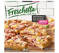Freschetta Pizza Naturally Rising Crust Canadian Style Bacon & Pineapple Frozen - 25.7 Oz