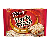Totinos Party Pizza Three Cheese Frozen - 9.8 Oz