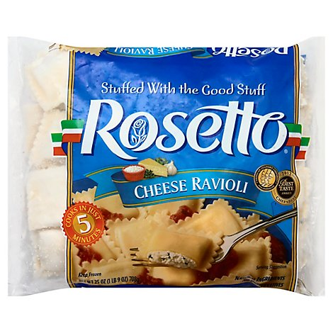 Rosetto Frozen Food Ravioli Cheese - 25 Oz