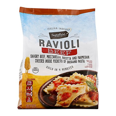 Signature SELECT Verdi Beef Ravioli - 25 Oz