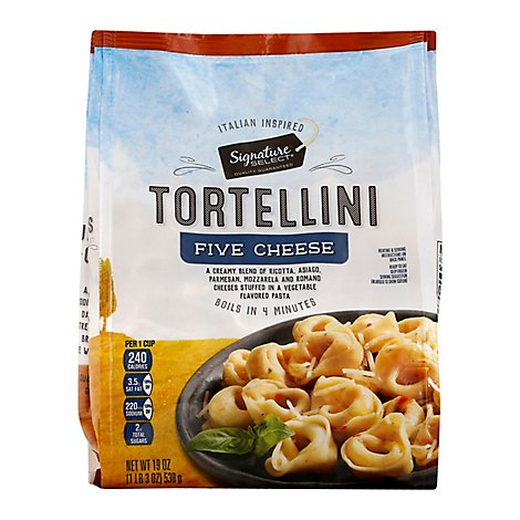 Signature SELECT Frozen Food 5 Cheese Tortellini Ravioli - 19 Oz