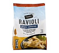Signature SELECT Frozen Food 5 Cheese Ravioli - 25 Oz
