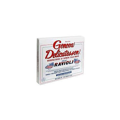 Genova Food Meat Ravioli - 15 Oz