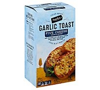 Signature SELECT Garlic Toast Five-Cheese 8 Count - 13 Oz