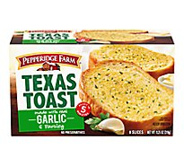Pepperidge Farm Texas Toast Garlic 8 Count - 11.25 Oz