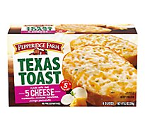 Pepperidge Farm Texas Toast Five Cheese 6 Count - 9.5 Oz