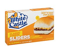 White Castle Microwaveable Cheeseburgers - 6 Count