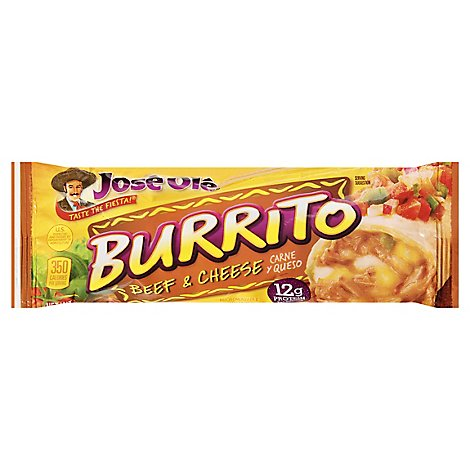 Jose Ole Frozen Mexican Food Burrito Steak & Cheese - 5 Oz