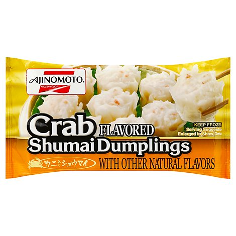 Ajinomoto Frozen Food Shumai Crab 15 Pieces - 7.93 Oz