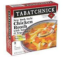 Tabatchnick Chicken Vegetable With Noodle Soup - 15 Oz
