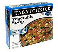 Tabatchnick Frozen Soup Vegetable Salt Free - 15 Oz