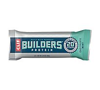 CLIF Builders Protein Bar Chocolate Mint - 2.4 Oz