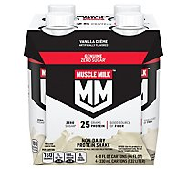 Muscle Milk Vanilla Creme Dietary Supplement Protein Shake - 4-11 Fl. Oz.