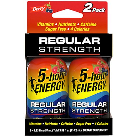 5-hour ENERGY Energy Shot Berry - 2-2 Fl. Oz.
