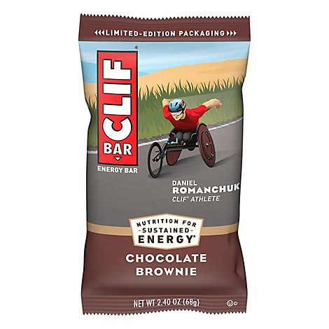 CLIF Energy Bar Chocolate Brownie - 2.4 Oz