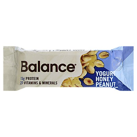 Balance Nutrition Bar Yogurt Honey Peanut - 1.76 Oz