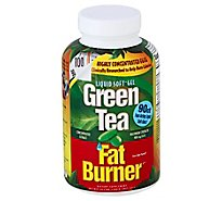 Applied Nutrition Green Tea Liquid Soft-Gels Fat Burner Maximum Strength Fast-Acting - 90 Count