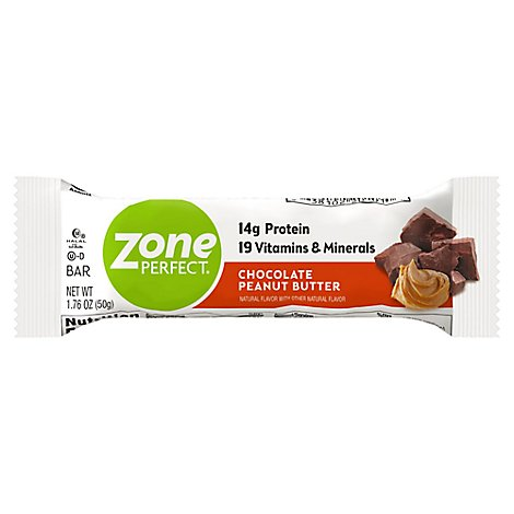 ZonePerfect Protein Bar Chocolate Peanut Butter - 1.76 Oz