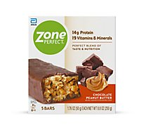 ZonePerfect Nutrition Bars - Chocolate Peanut Butter - 5 - 1.76 oz