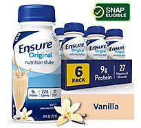 Ensure Original Nutrition Shake Ready To Drink Vanilla - 6-8 Fl. Oz.