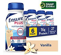 Ensure Plus Nutrition Shake Vanilla - 6-8 Fl. Oz.