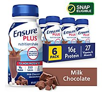 Ensure Plus Nutrition Shake Ready To Drink Milk Chocolate - 6-8 Fl. Oz.