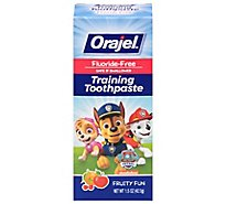 Orajel Toothpaste Training Paw Patrol Fruity Fun - 1.5 Oz