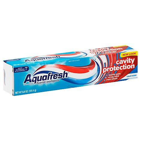 Aquafresh Toothpaste Triple Protection - 6.4 Oz