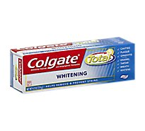 Colgate Total Toothpaste Anticavity Fluoride and Antigingivitis Whitening Gel - 6 Oz