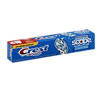 Crest Complete Toothpaste Fluoride Multi-Benefit Whitening + Scope Cool Peppermint - 6.2 Oz
