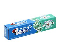 Crest Complete Toothpaste Fluoride Multi-Benefit Whitening + Scope Minty Fresh Striped - 8 Oz
