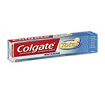 Colgate Total Toothpaste Anticavity Fluoride and Antigingivitis Whitening Paste - 7.8 Oz